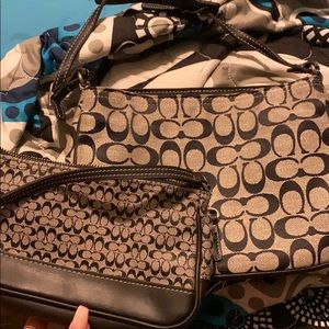 Coach purses.